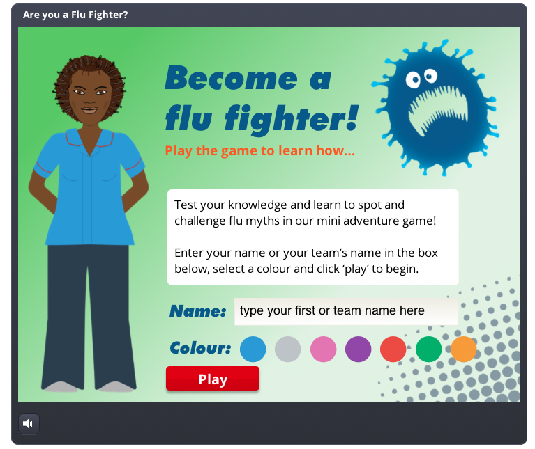 Flu fighter – health literacy project