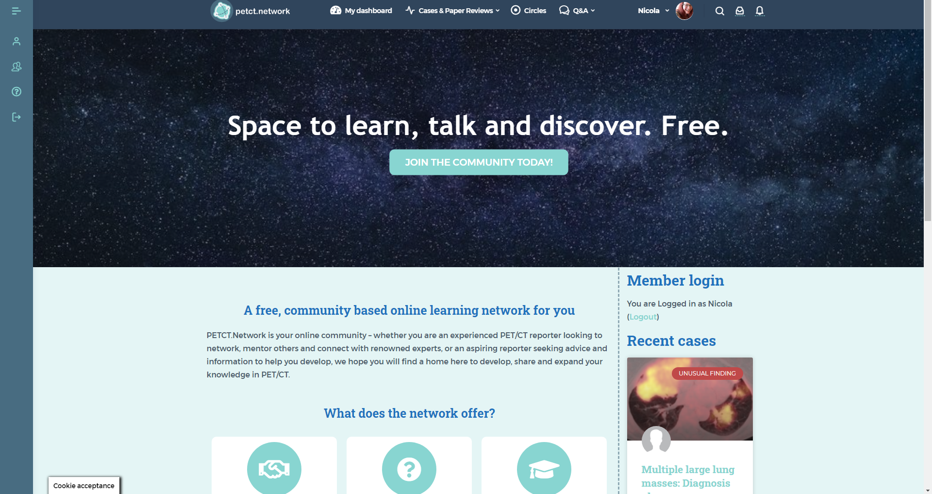 petct.network community space